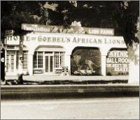 Goebel's African Lion Farm, as seen from Thousand Oaks Blvd. Click on for a larger image!
